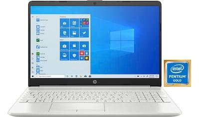 "HP Notebook »15-dw1224ng«, (39,6 cm/15,6 "" Intel Pentium Gold HD Graphics\r\n 512 GB... kaufen"