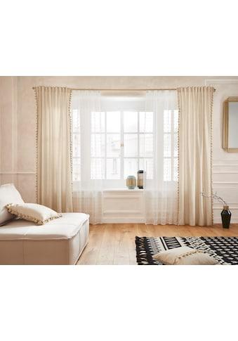 Guido Maria Kretschmer Home&Living Gardine »Belle«, transparent, Scherliqualität mit... kaufen