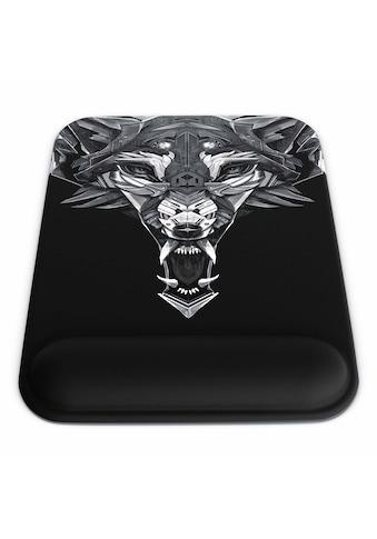 Titanwolf Gel Mauspad mit Handgelenkauflage »Office Mousepad mit Handgelenkpolster« kaufen