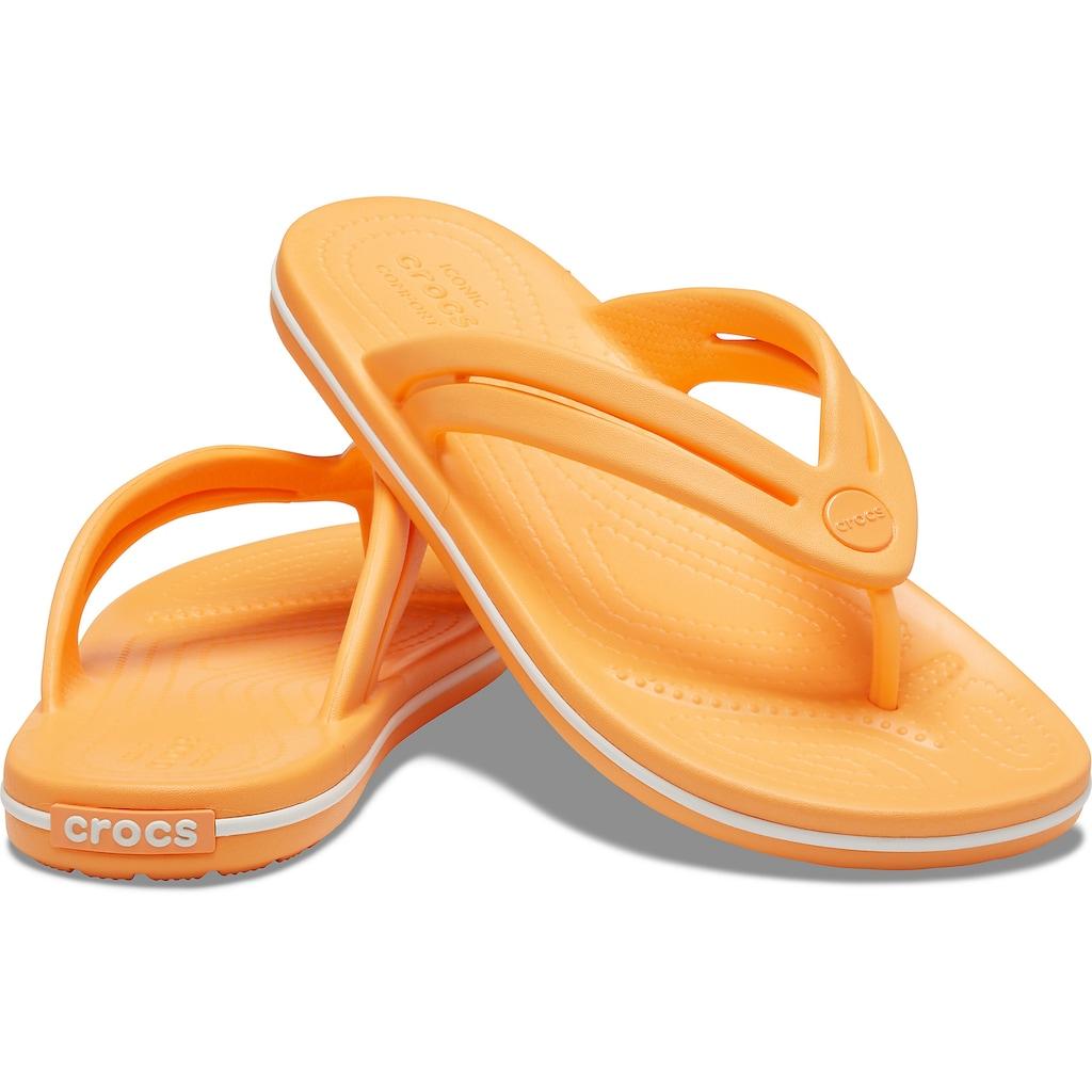 Crocs Zehentrenner »Crocband Flip«