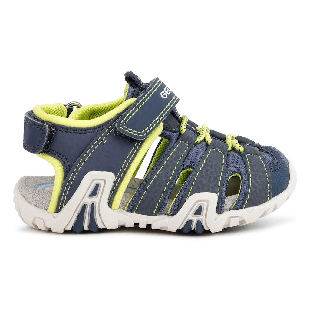 Geox Kids Sandale »Kraze A«, mit zusätzlichen Klettverschlüssen