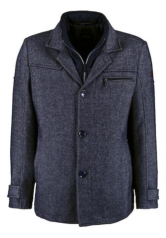 DNR Jackets Herren Jacke mit Doppelkragen und praktischen Taschen kaufen