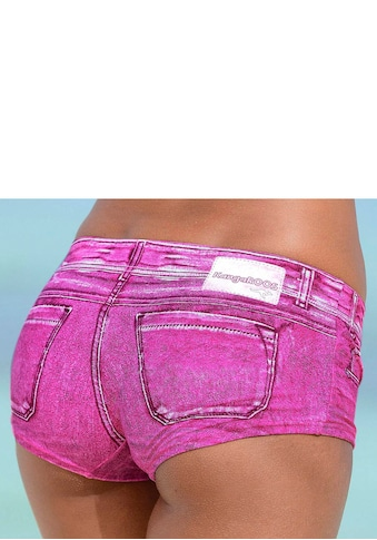 KangaROOS Bikini-Hotpants »Patty«, in angesagter Jeans-Optik kaufen