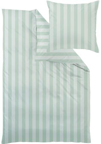 Curt Bauer Kissenhülle »Como«, (1 St.), mit Blockstreifen kaufen