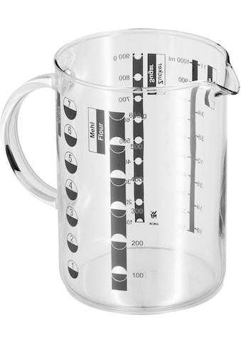 WMF Messbecher »Gourmet«, Glas, (1), Kleinstmengen genau ablesbar. Angabe der... kaufen
