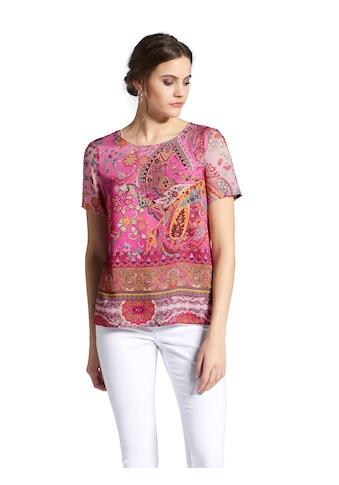 Peter Hahn Shirtbluse »mit Rundhals - Ausschnitt« kaufen