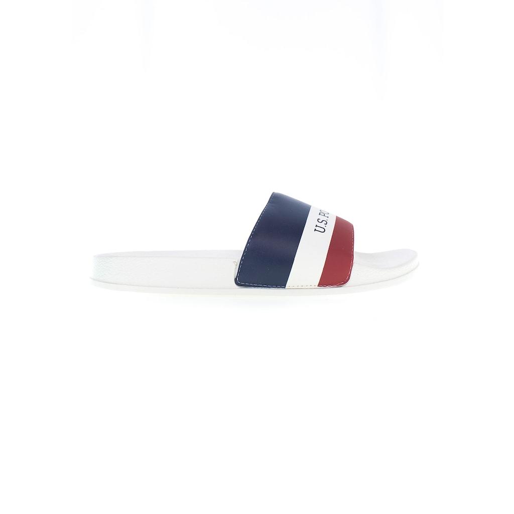 U.S. Polo Assn Pantolette »Fun«, mit markantem Logoschriftzug