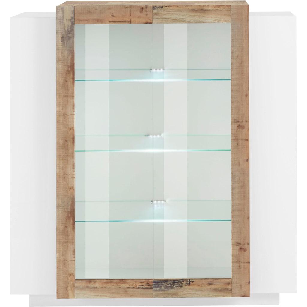 Tecnos Vitrine »Coro«, Höhe 126 cm