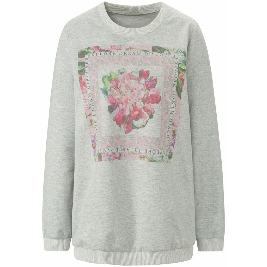 MYBC Sweatshirt »Sweatshirt«, mit Seitenschlitzen