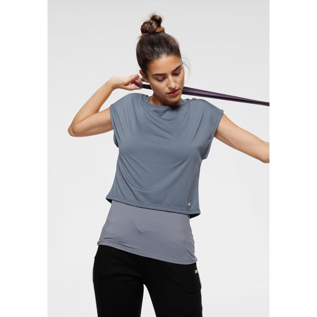 H.I.S Trainingsshirt »2-tlg. Set: Shirt & Top«