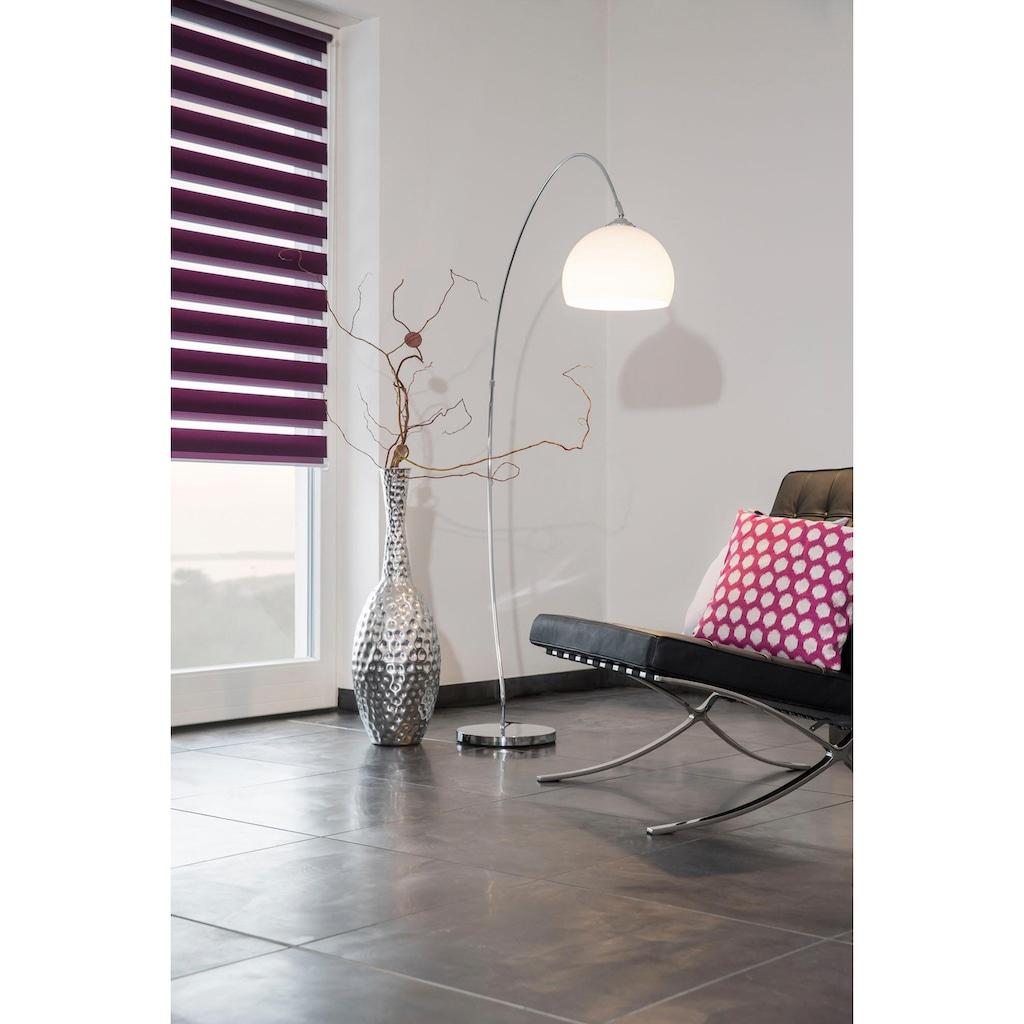 LICHTBLICK ORIGINAL Doppelrollo »Duo Rollo Klemmfix«, Lichtschutz, ohne Bohren, freihängend, Seitenzugrollo im Festmaß, schnelle und einfache Montage mit beiliegendem, verstellbarem Klemmträger