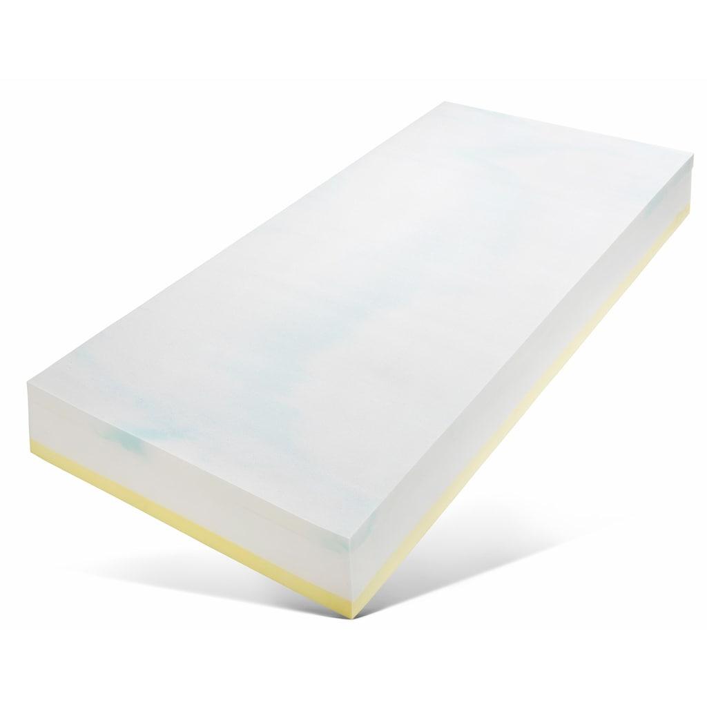 Breckle Taschenfederkernmatratze »TFK Duo«, 25 cm cm hoch, 530 Federn, (1 St.), Wendematratze mit zwei unterschiedlich festen Liegeseiten