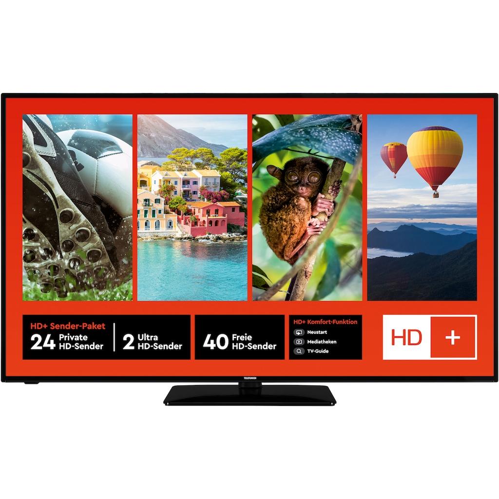 "Telefunken LED-Fernseher »D58U553M1CW«, 146 cm/58 "", 4K Ultra HD, Smart-TV"