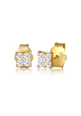 Diamore Paar Ohrstecker »Klassisch Elegant Diamant (0.12 ct.) 585 Gelbgold« kaufen