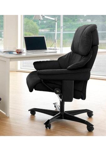 Stressless® Relaxsessel »Reno«, mit Home Office Base, Größe M, Gestell Schwarz kaufen