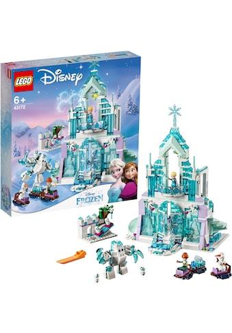 """LEGO® Konstruktionsspielsteine """"Elsas magischer Eispalast (43172), LEGO® Disney"""", Kunststoff, (701 - tlg.) kaufen"""