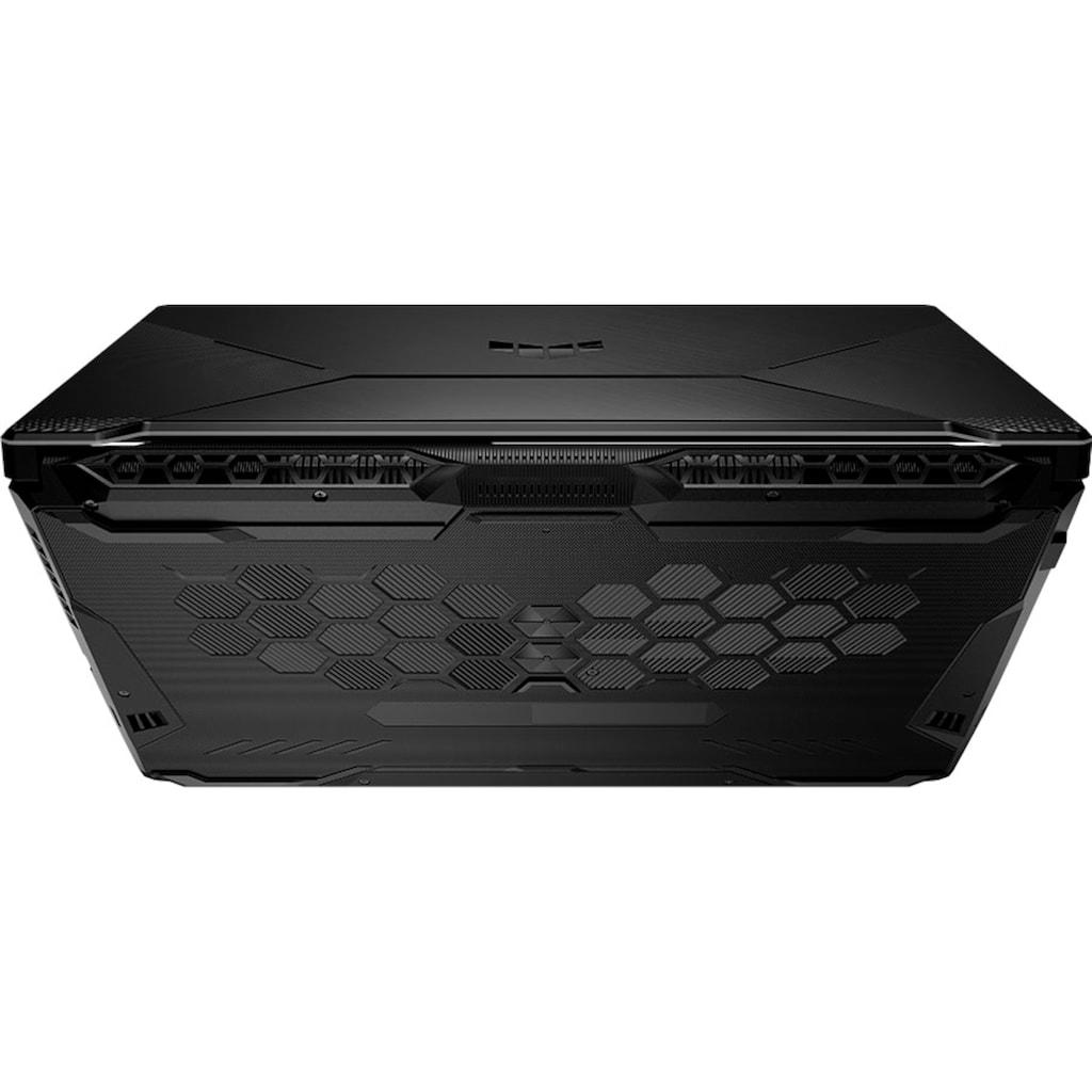 "Asus Gaming-Notebook »TUF Gaming A17 FA706QM«, (43,9 cm/17,3 "" AMD Ryzen 7 GeForce RTX 3060\r\n 512 GB SSD), Kostenloses Upgrade auf Windows 11, sobald verfügbar"