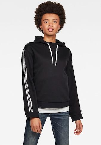 G-Star RAW Sweatshirt »Bilbi Originals Sweatshirt«, Kapuzensweatshirt mit Logo Webband... kaufen