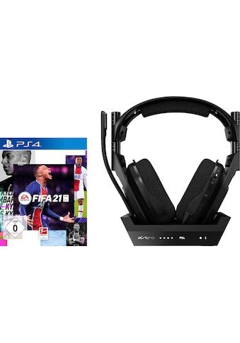 ASTRO Gaming-Headset »PS4 A50 + Fifa 21«, Rauschunterdrückung kaufen