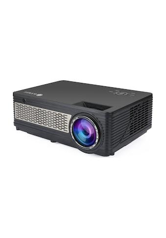 LA VAGUE LED-Beamer »LV-HD400«, 3200 lm, 1000:1, 1920 x 1080 px), Full HD, ideal zum Streamen von Netflix kaufen