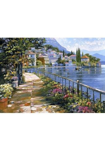 DELAVITA Leinwandbild »H. BEHRENS / Spaziergang im Sonnenlicht«, (1 St.) kaufen