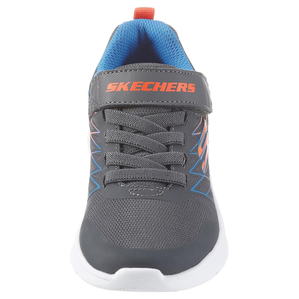 Skechers Kids Sneaker »MICROSPEC«, mit Kontrastbesatz