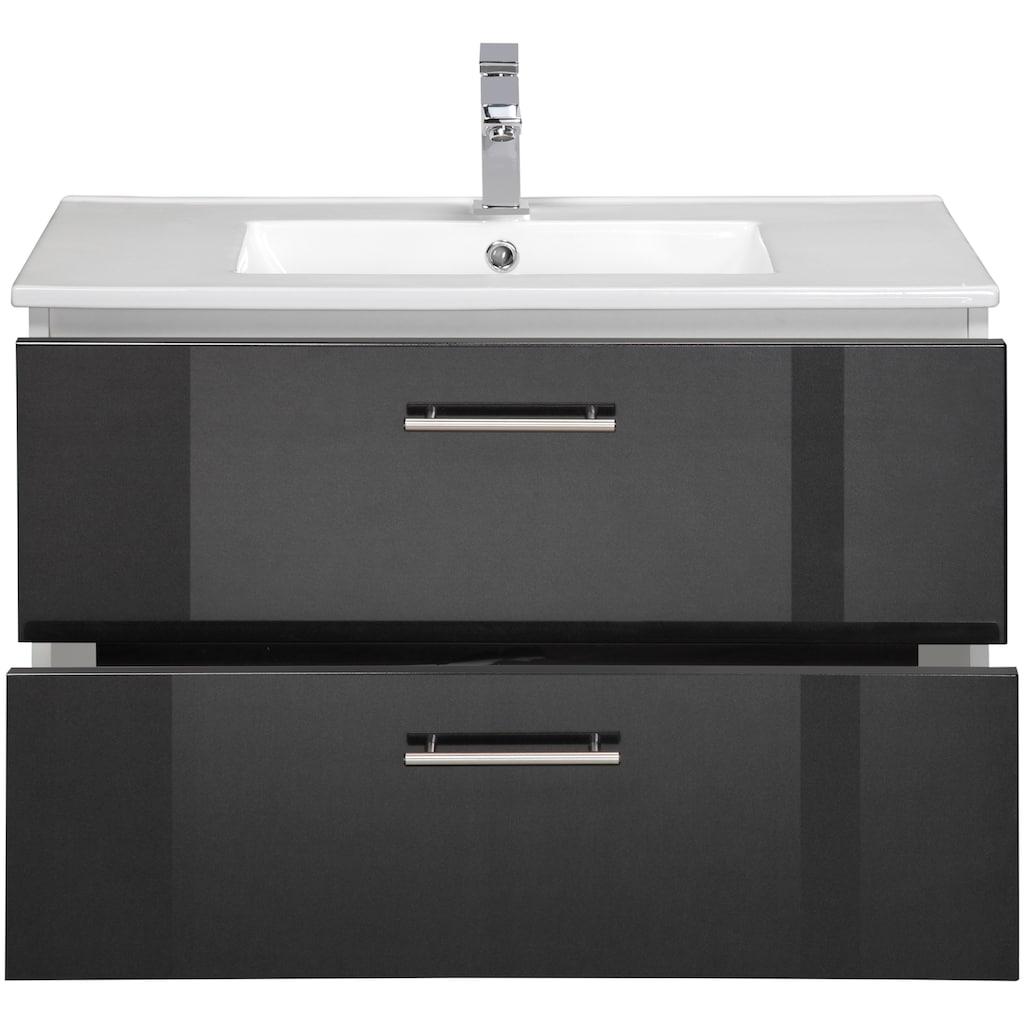 Waschtisch »Trento«, Badmöbel in Breite 80 cm