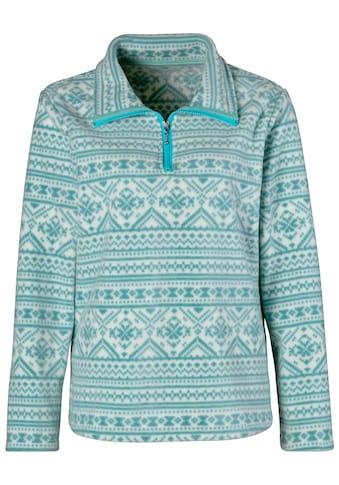 Classic Basics Fleece - Shirt im winterlichen Norwegermuster kaufen