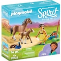 Playmobil® Konstruktions-Spielset »Pru mit Pferd und Fohlen (70122), Spirit Riding Free«, Made in Europe