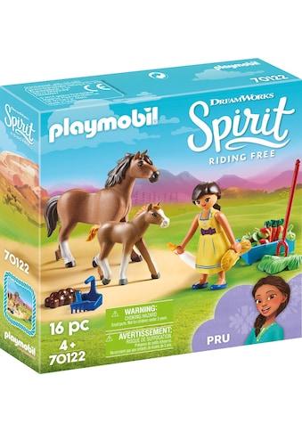 Playmobil® Konstruktions-Spielset »Pru mit Pferd und Fohlen (70122), Spirit Riding... kaufen