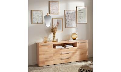 Woltra Sideboard »Murani«, Fronten aus Massivholz kaufen