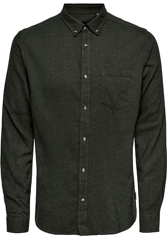 ONLY & SONS Flanellhemd »SIMON LIFE SOLID FLANNEL SHIRT« kaufen