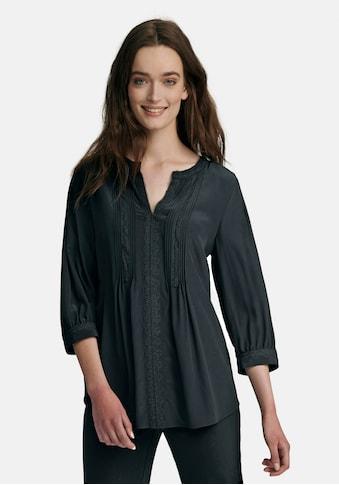 Uta Raasch Kurzarmbluse »silk«, mit Biesen kaufen