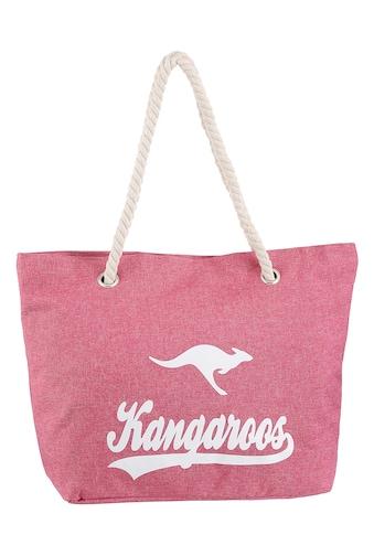 KangaROOS Shopper, schöne Sommertasche mit viel Stauraum kaufen