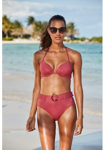 s.Oliver Beachwear Push-Up-Bikini-Top »Rome«, in verschiedenen Unifarben kaufen