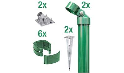 GAH Alberts Eckpfosten »Fix-Clip Pro®«, für Maschendrahthöhe 102 cm, zum Aufschrauben kaufen