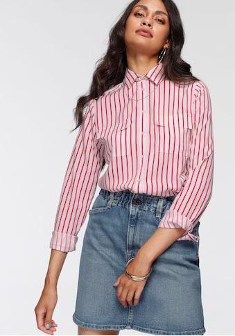 AJC Hemdbluse, im farbenfrohen Streifen-Design mit aufgesetzten Taschen - NEUE KOLLEKTION kaufen
