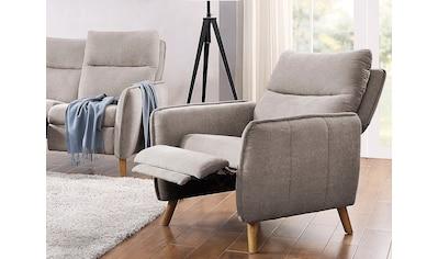 ATLANTIC home collection Sessel »Neo«, im skandinavischem Design mit Relaxfunktion und... kaufen