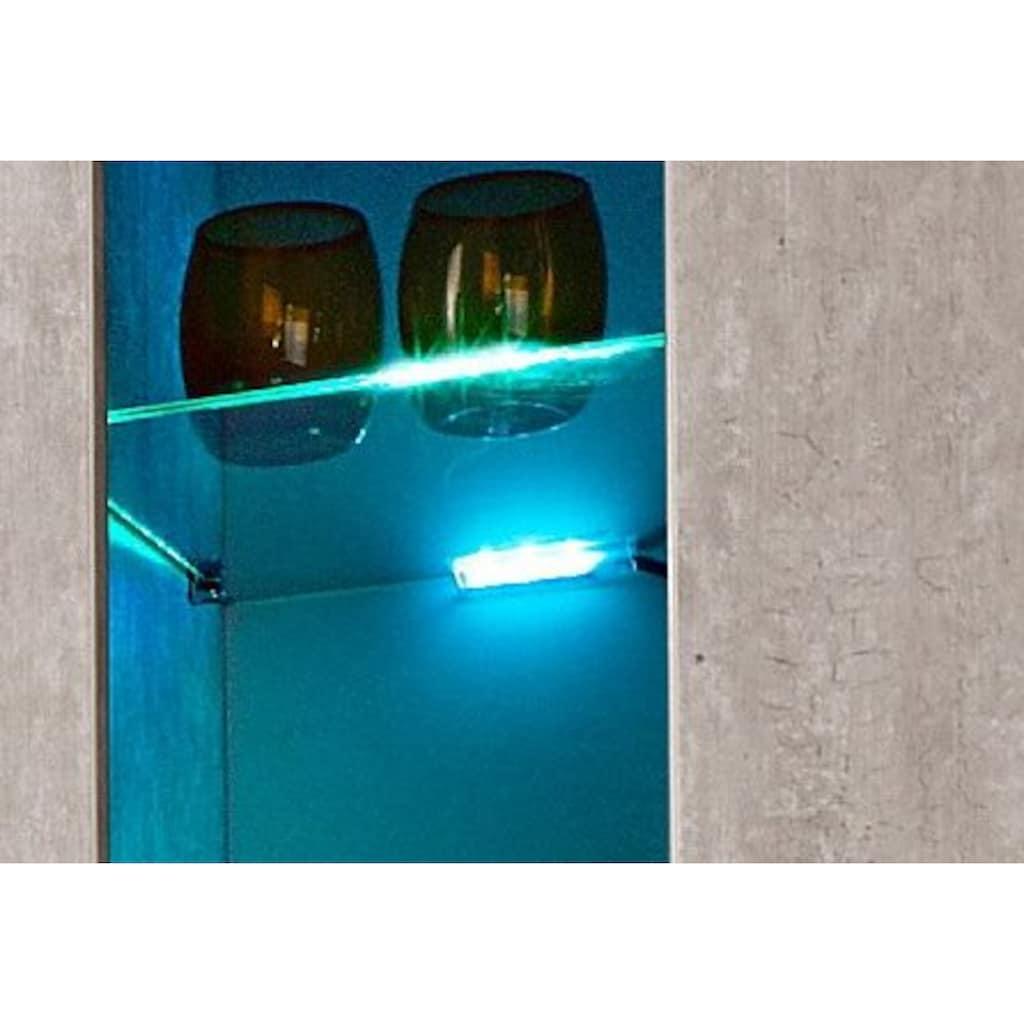 LED Glaskantenbeleuchtung, 3 St., Farbwechsler