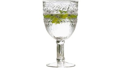 Rotweinglas, (Set, 6 tlg.), Recycling-Glas, 6-teilig kaufen