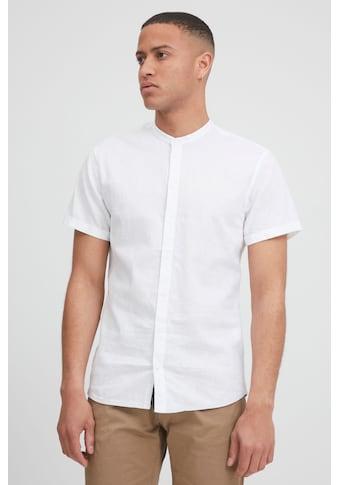 Blend Kurzarmhemd »Kurzarmhemd 20712174«, Herrenhemd Kurzarm mit Stehkragen kaufen