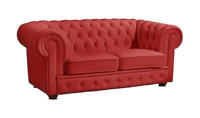 Max Winzer® Chesterfield-Sofa »Windsor«, mit edler Knopfheftung, 2-Sitzer oder 3-Sitzer kaufen