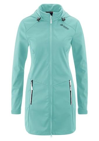 Maier Sports Softshelljacke »Selina«, Sportlicher Softshell-Mantel für Wandern und... kaufen