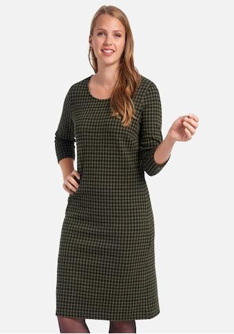 Anna Aura Jerseykleid »im Vichy-Look«, mit Rundhals kaufen