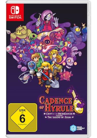 Nintendo Switch Spiel »Cadence of Hyrule - Crypt of the NecroDancer«, Nintendo Switch kaufen