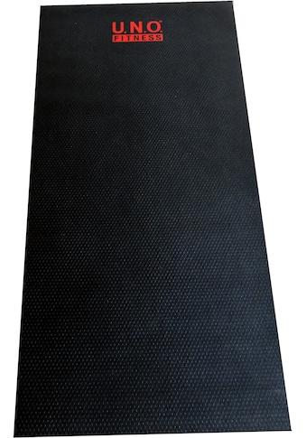 U.N.O. FITNESS Bodenschutzmatte, für Fitnessgeräte kaufen