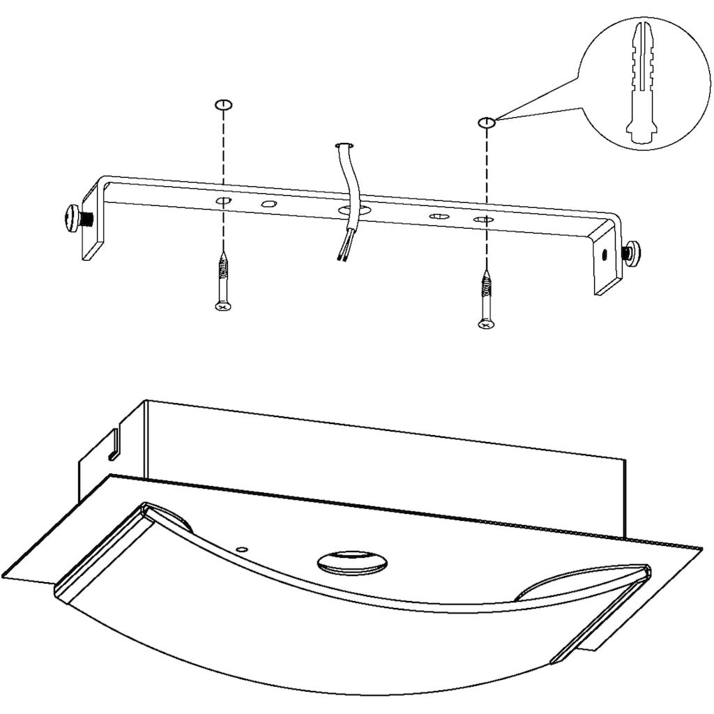 EGLO LED Deckenleuchte »WASAO1«, LED-Board, Warmweiß, LED Deckenlampe