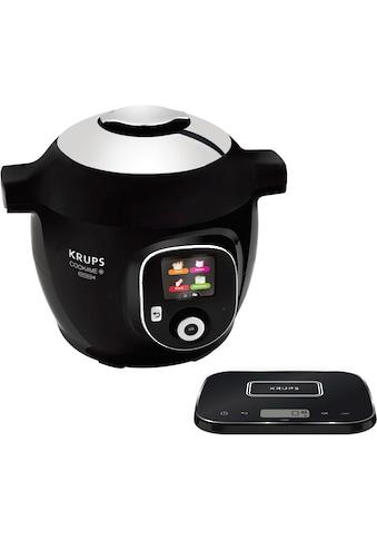 Krups Multikocher Cook4Me+, Grameez CZ8568 mit vernetzter Waage, 1600 Watt, Schüssel 6 Liter kaufen
