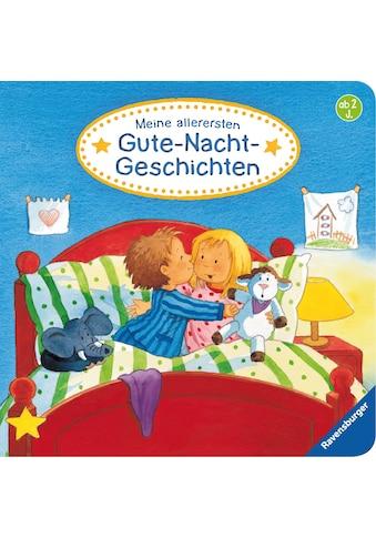 Buch »Meine allerersten Gute-Nacht-Geschichten / Frauke Nahrgang, Bernd Penners, Kerstin M. Schuld« kaufen