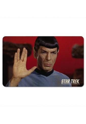 LOGOSHIRT Frühstücksbrettchen mit Spock-Motiv kaufen